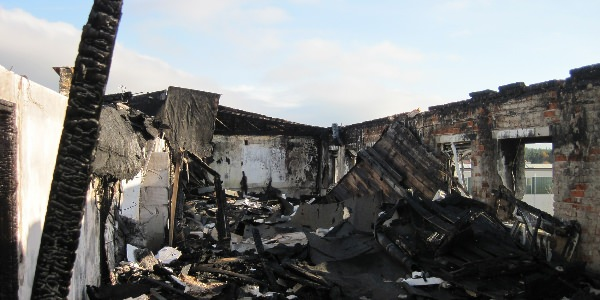 Fire damage redevelopment
